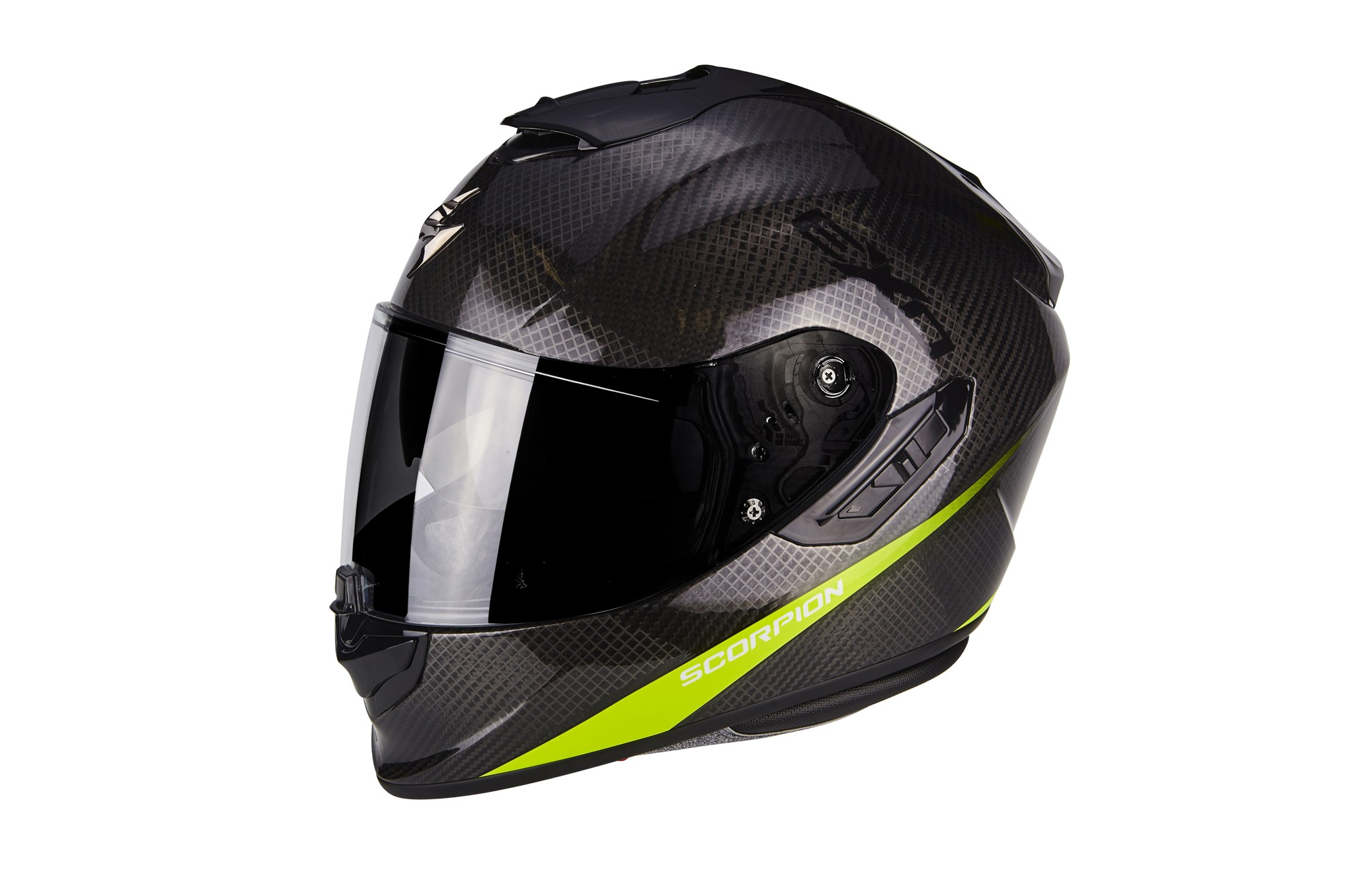 Scorpion EXO-1400 Air, Carbon pure, noir-jaune fluo