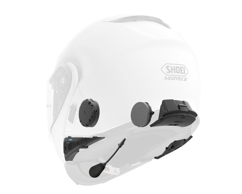 SENA  Kommunikationssystem Bluetooth  SRL für Shoei Neotec II (Set für 1 Helm)