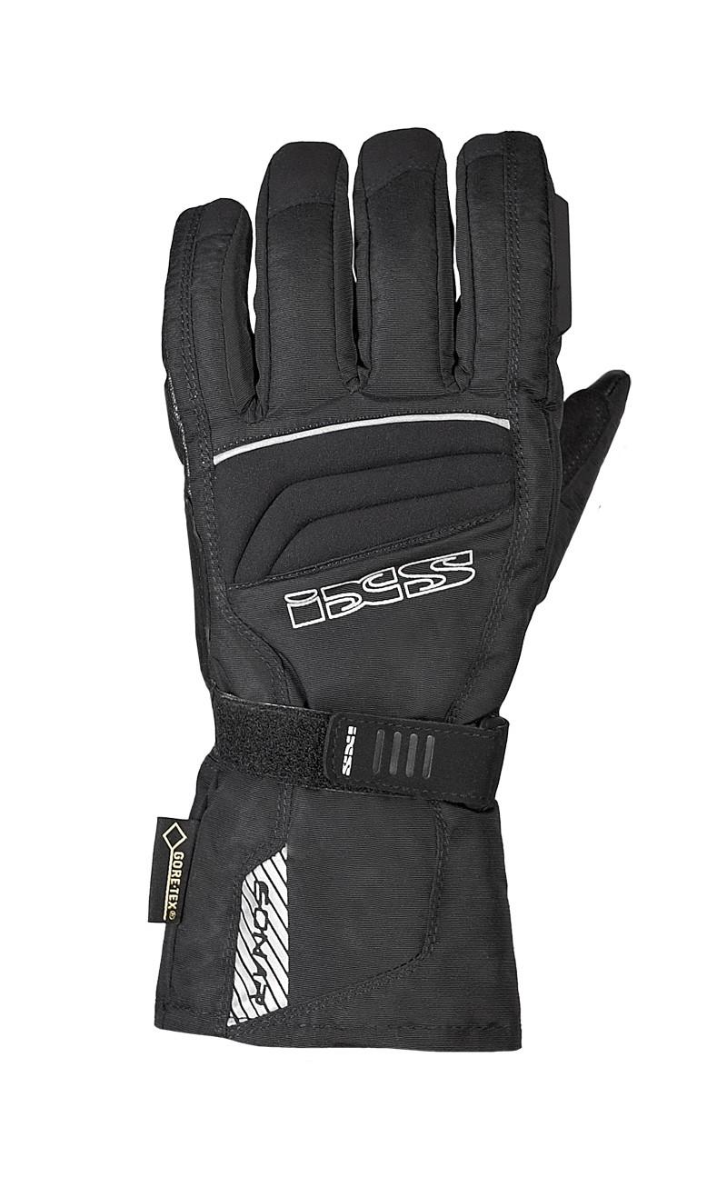 IXS Leder-Textilmix-Handschuh Solar, Gore-Tex