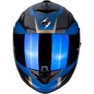 Scorpion EXO-1400 Air, Carbon Esprit, blau