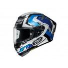 SHOEI X-Spirit III, Brink, schwarz-silber-blau