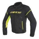 Dainese veste d'éte Air Frame D1 Tex, noir-jaune fluo