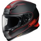 SHOEI NXR- Flagger, noir mat-rouge