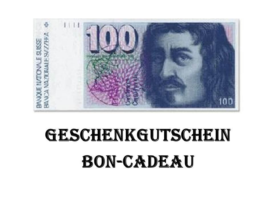 Geschenkgutschein Fr. 100.--