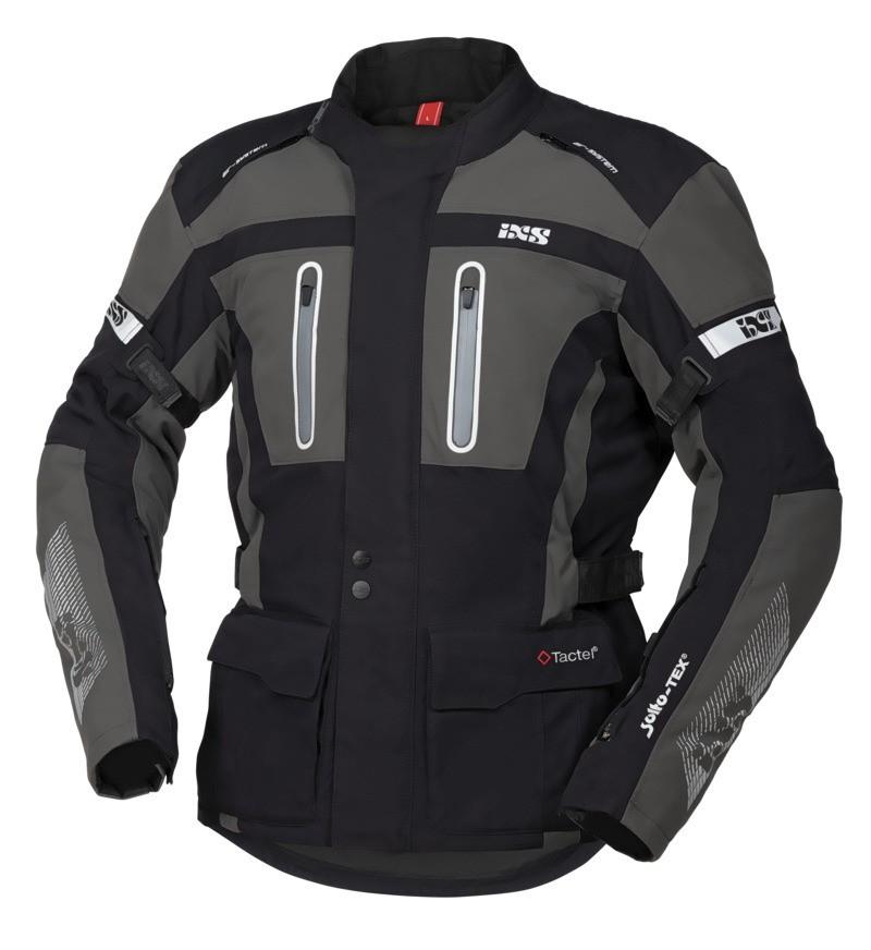 IXS All-Seasonjacke Pacora--ST, schwarz-grau