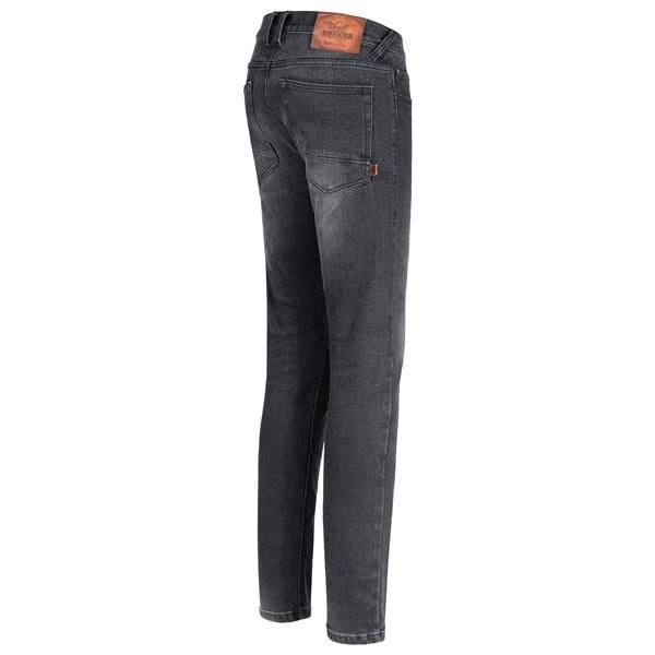 Rokkertech Super Slim Jeans, schwarz