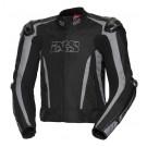 IXS Blouson Sport LT RS-1000- mix Leder-Textil, schwarz-grau
