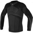 Dainese D-Core Aero - T-shirt, schwarz-blau, langarm