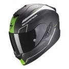 Scorpion EXO-1400 Air, Carbon Beaux, schwarz-weiss matt-grün