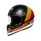 SHOEI Ex-Zero, Equation, schwarz-orange-rot-weiss