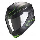 Scorpion EXO-1400 Air, Galaxy, matt schwarz - grün