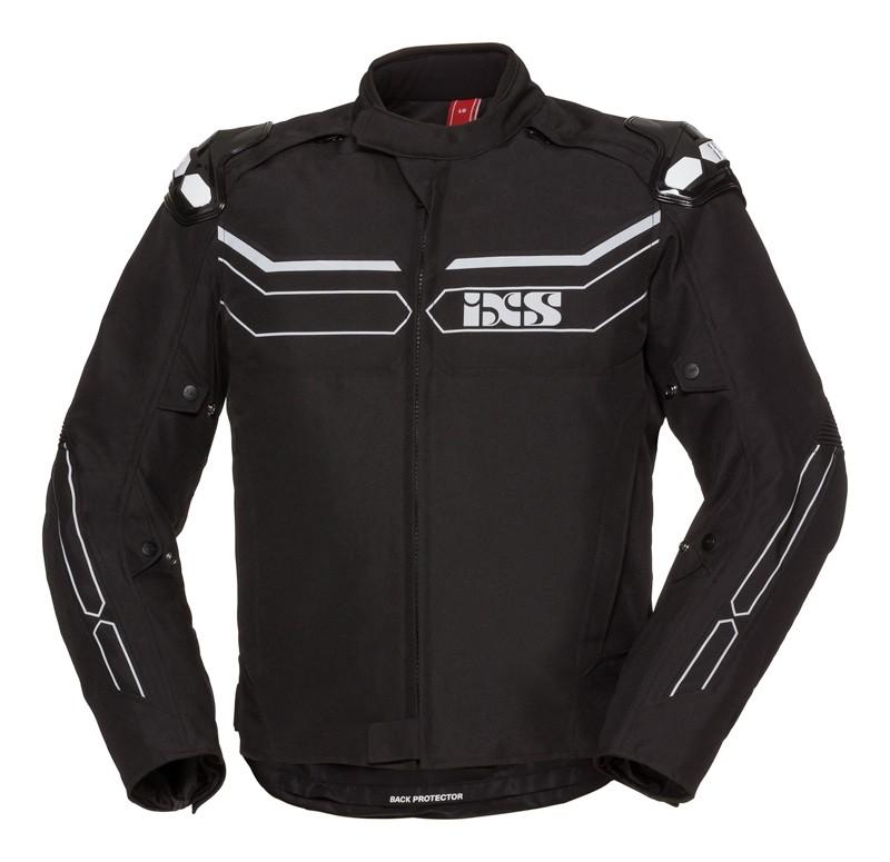 IXS Blouson Sport  RS-1000 ST,  textil, noir-gris