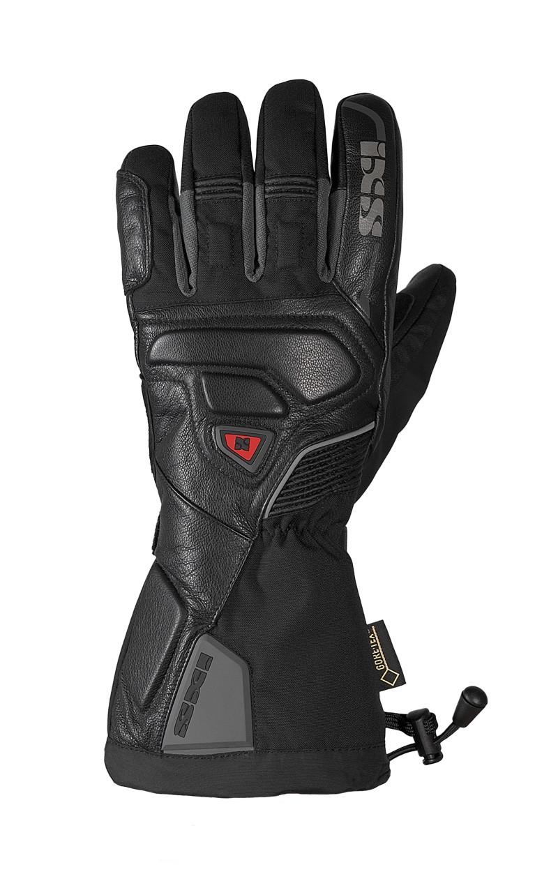 IXS gants d'hiver Arctic, Gore-Tex,  noir