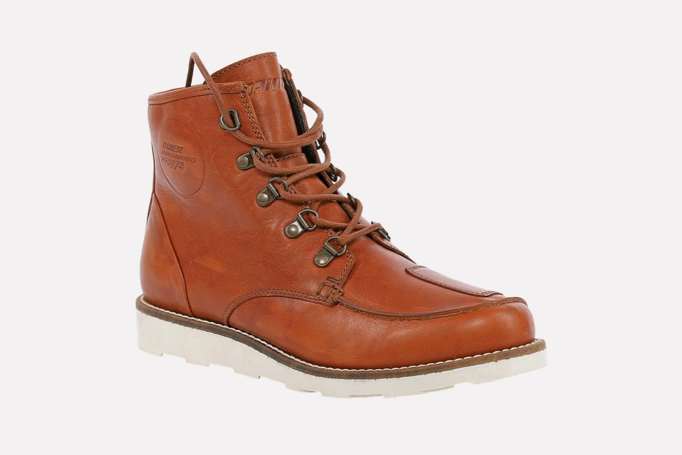 Dainese Bottes  vintage Cooper, brun-claire
