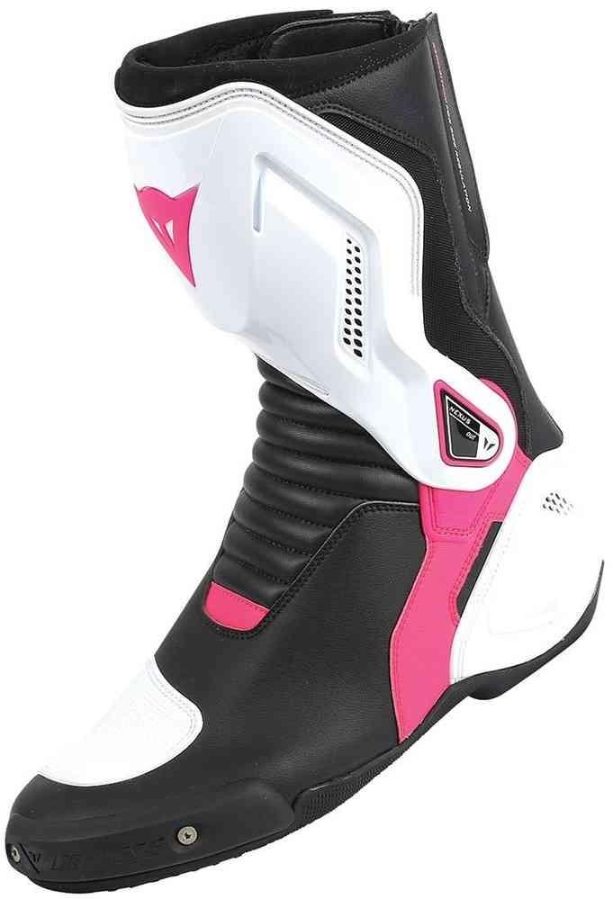 Dainese bottes Nexus Lady, blanc-noir-fuxia