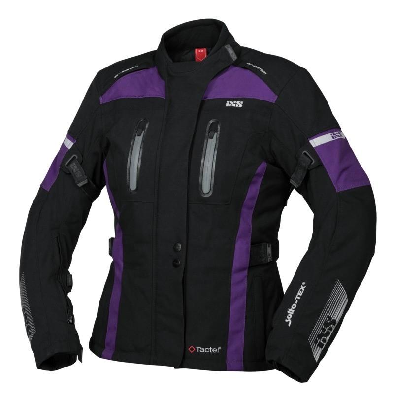 IXS veste dames Tour Pacora-ST, noir-violet