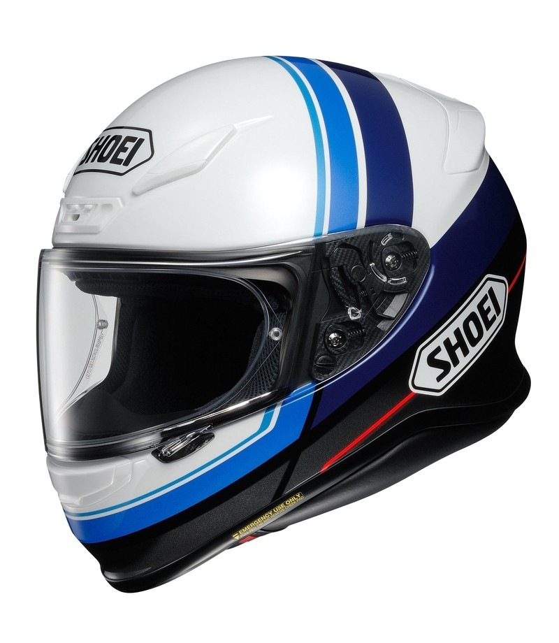 SHOEI NXR-Philosopher TC-2, blanc-bleu