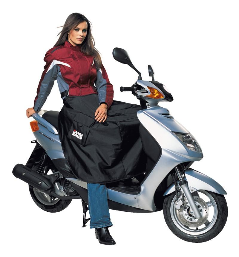 IXS Scooter couverture thermique Rolli, noir