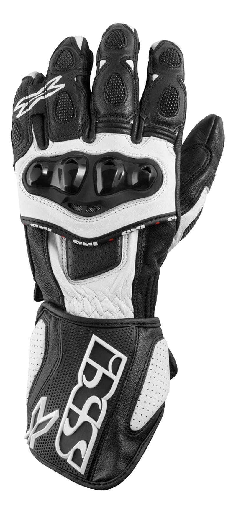 IXS gants Sport LD RS-300  noir-blanc
