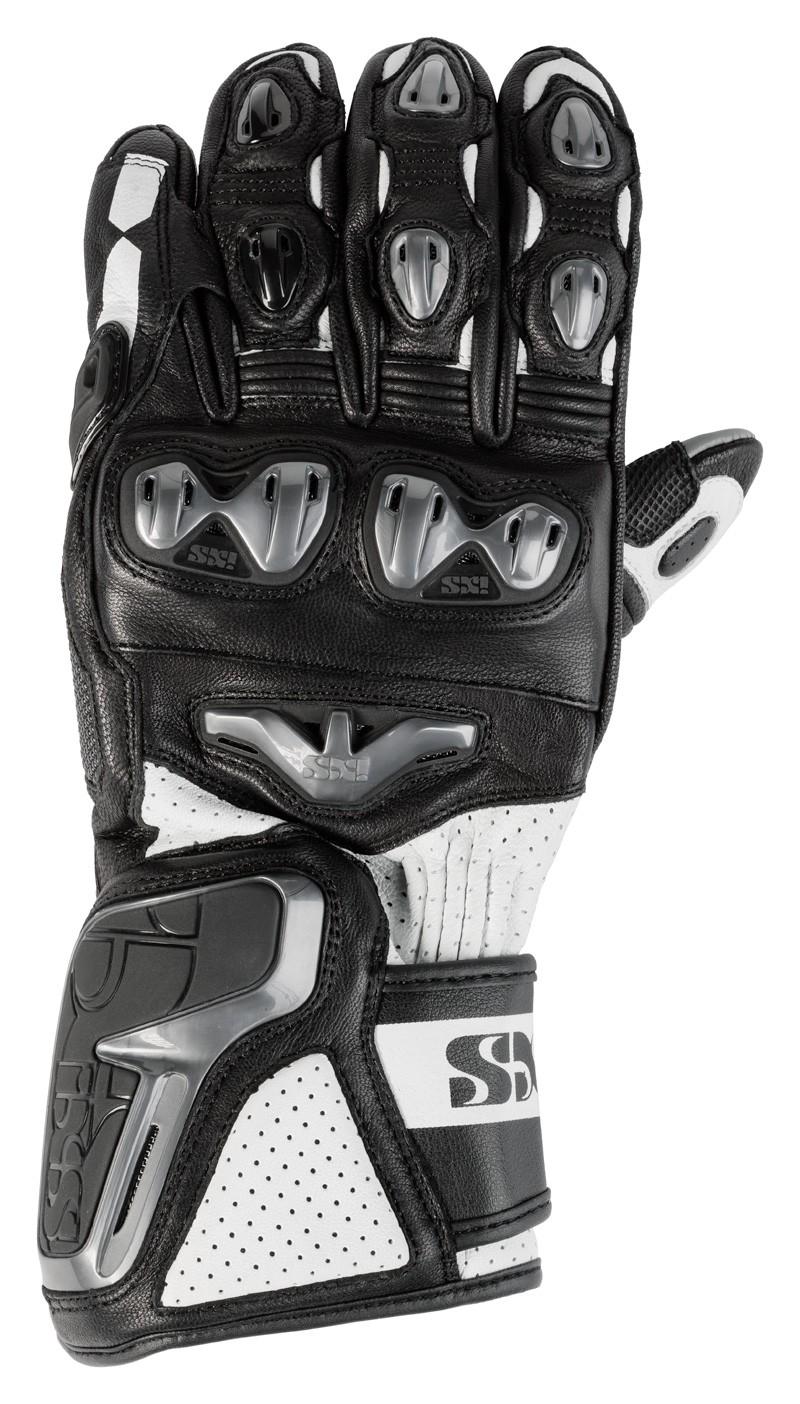 IXS gants Sport LD RS-400  noir-blanc