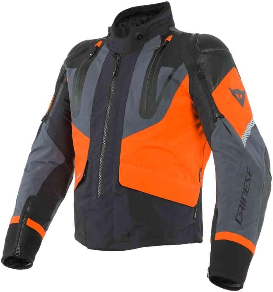 Dainese Sport Master Gore-Tex veste textile, noir-orange-ebony