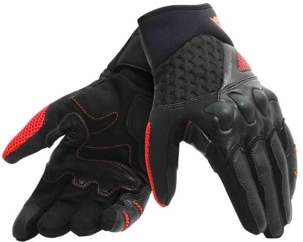 Dainese gants d'été X-Moto, unisex, noir-rouge