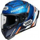 SHOEI X-Spirit III, M93 schwarz, Concept, noir matt-rouge (collection 2021)