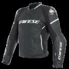 Dainese Airbag-veste en cuir,   Racing 3 D-Air, noir-jaune fluo