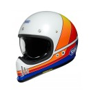 SHOEI Ex-Zero, Equation, blanc-bleu-orange