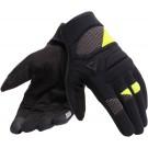Dainese gants d'éte court Fogal, noir-jaune